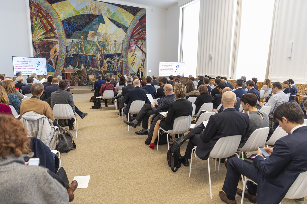 Global challenges conference, Geneva Science Policy Interface